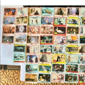 Vg 1980's Empire Strikes Back Trading Cards